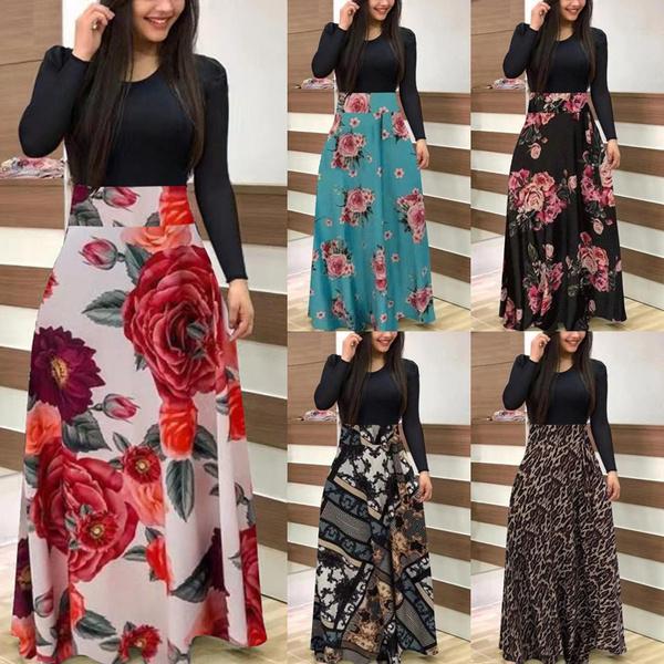 Women, long skirt, Plus Size, high waist