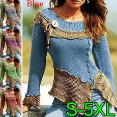 crewneck sweater, autumnwinter, Fashion, Necks