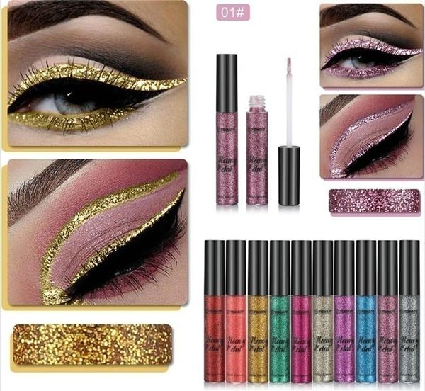 Eye Shadow, eye, gold, Beauty