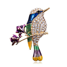 Fashion, collarornament, Pins, Rhinestone Brooch