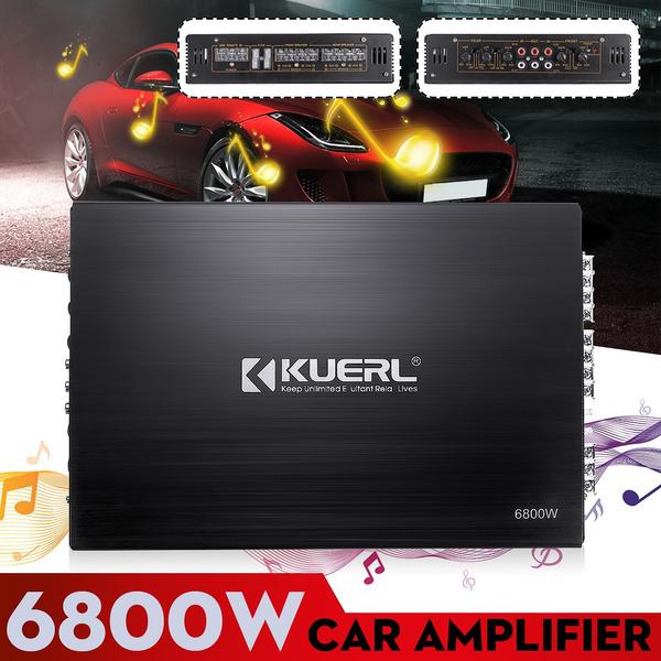 audioamplifier, Bass, Aluminum, Cars