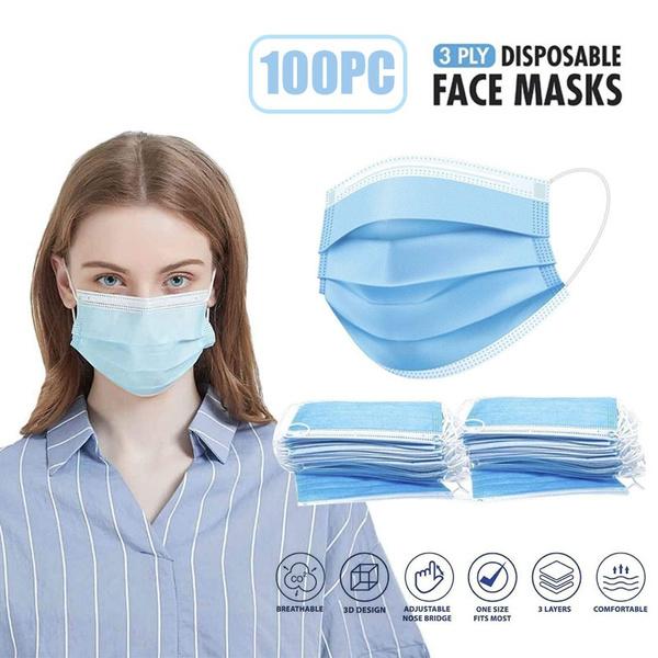 blackmask, earloop, Elastic, Breathable
