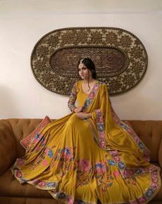 Beautiful, gowns, kurtiforwomen, Embroidery