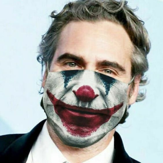 jokermask, Funny, Fashion, mouthmask