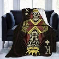 King, Fleece, skull, lights