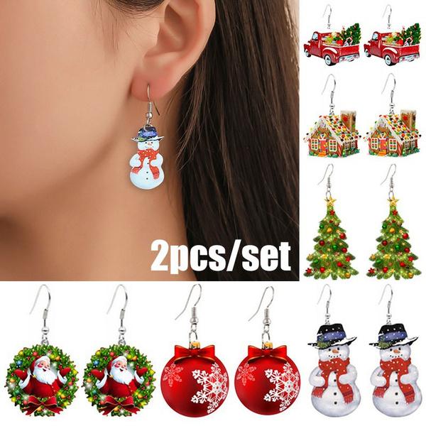 Stud Earring, Ear Drops, Earring, acrylicearring
