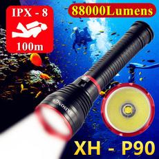 Flashlight, underwater, Outdoor, led