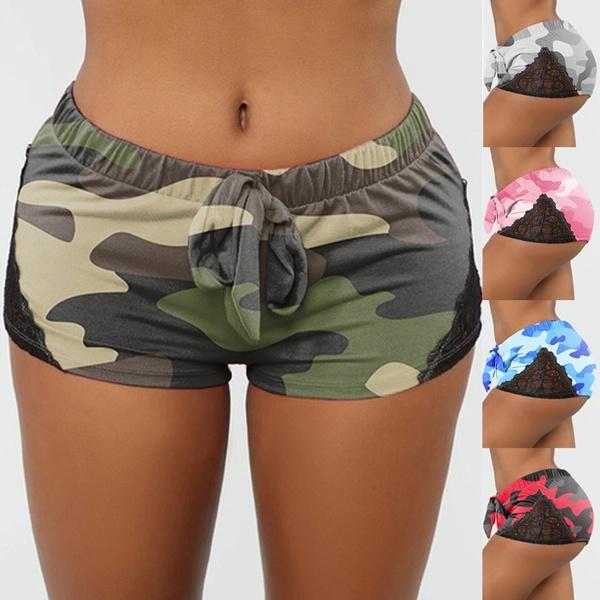 Summer, Shorts, Yoga, Lace