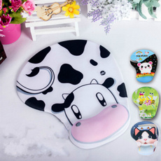 cute, siliconemousepad, Mats, cow