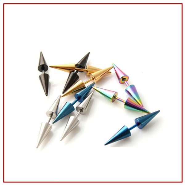 Steel, Fashion, Jewelry, Stud Earring