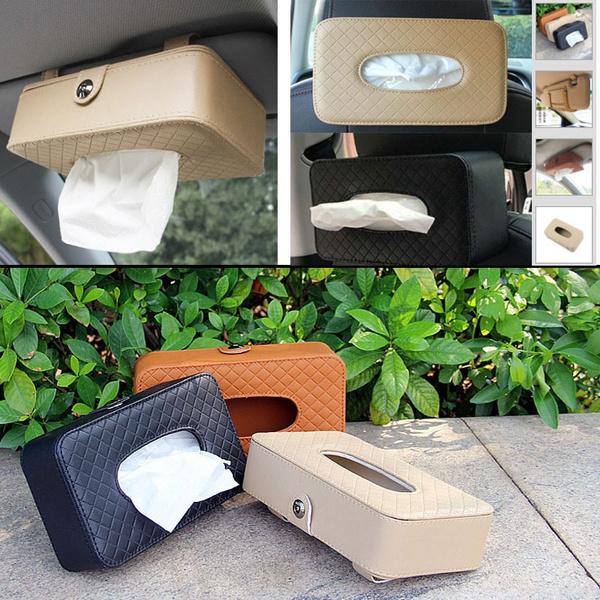 Box, Cars, tissueholder, leather