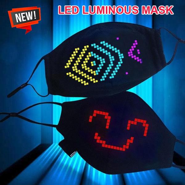 lights, ravemask, partymask, Masks
