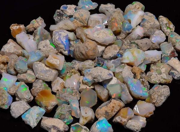 ethiopianopalstone, Crystal, opalroughgemstone, Gemstone