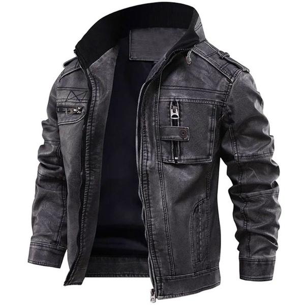 Fashion, Sleeve, leather, Men
