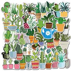 Car Sticker, Plants, greenplantsticker, Waterproof