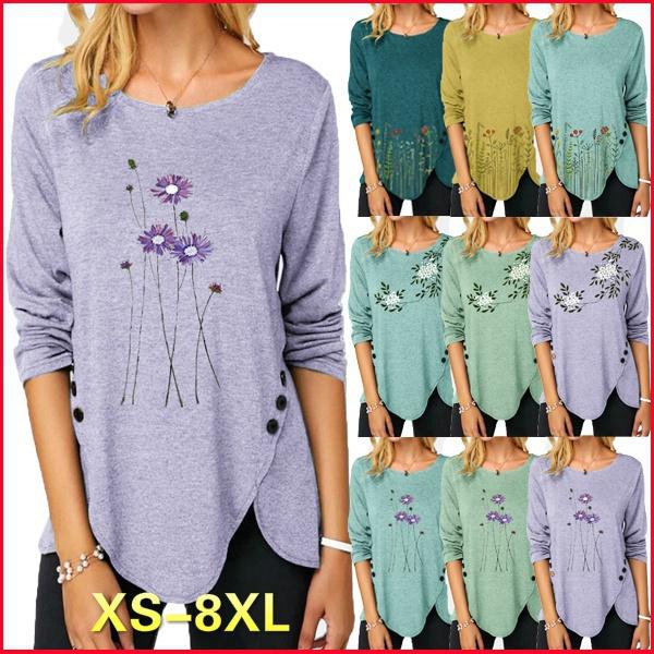ladyshirt, Plus Size, tunic top, Long Sleeve