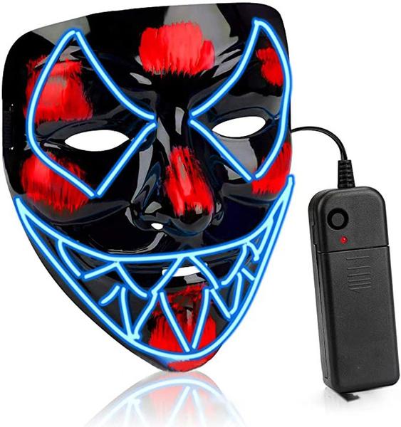 ghost, led, Skeleton, Masks
