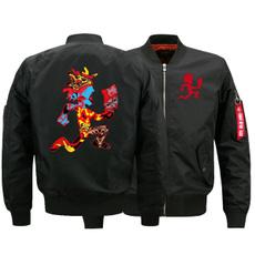 Plus Size, bomberjacket, Jacket, biker