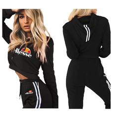 2pieceset, hoodies for women, Winter, jogging suit