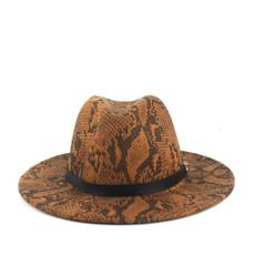 Fedora Hats, Fedora, leopard print, hatformen