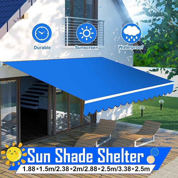 Outdoor, waterproofawningcanopy, sunshadeshelter, uv