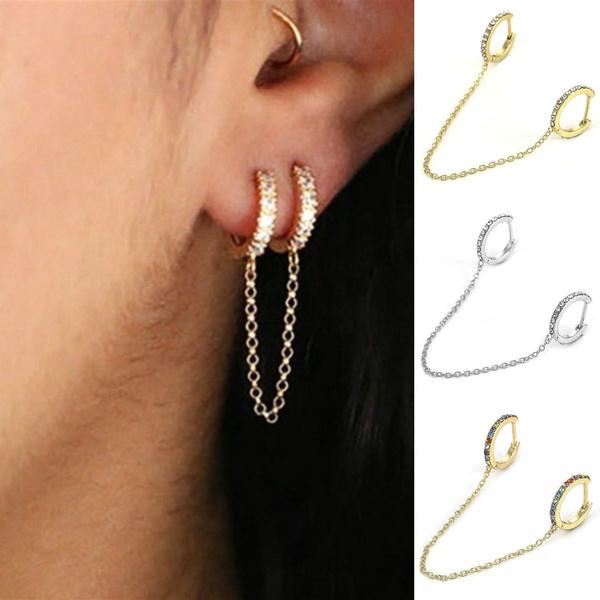 daintyearring, Mini, Hoop Earring, Jewelry