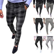 plaid, skinny pants, pants, trouserspant