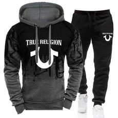 3D hoodies, Outdoor, pullover hoodie, 2pieceset