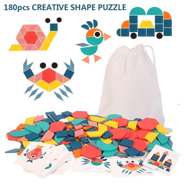 3dpuzzlekid, Toy, Wooden, Jigsaw