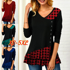 Shirts & Tops, blouse women, Women's Casual Tops, Sleeve