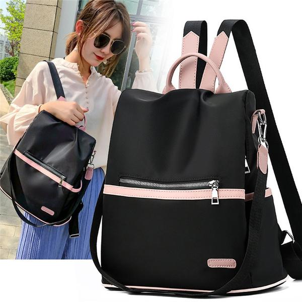 waterproof bag, School, causalbackpack, Capacity