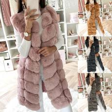 fur coat, Vest, Fashion, fur