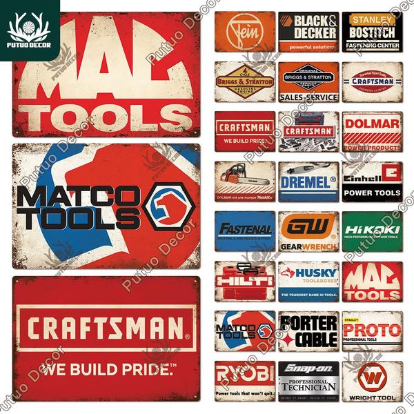 toolsign, vintagesign, Power & Hand Tools, Vintage