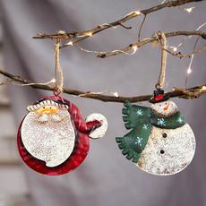 snowman, ironcraft, Decor, Christmas