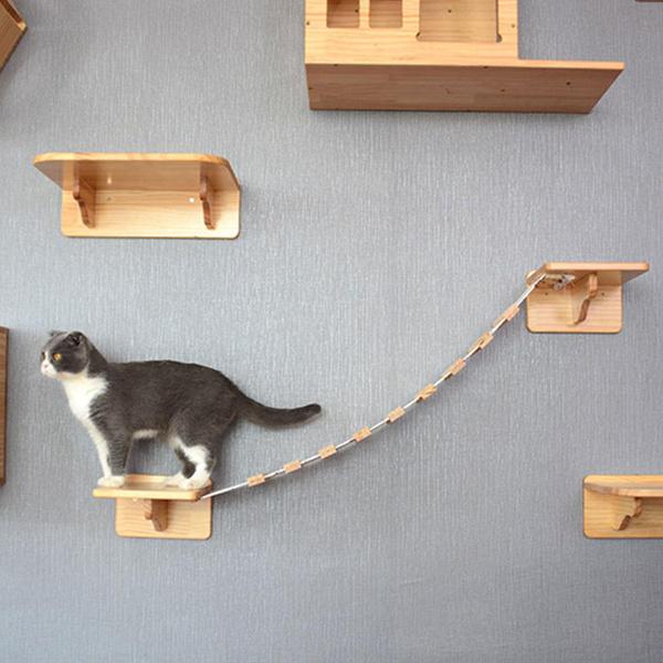 Wall Mount, staircase, Pets, Shelf