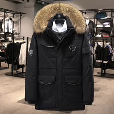 Down Jacket, Fashion, Winter, Collar