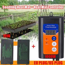 planting, thermostat, greenhousetemperaturecontroller, heatmatthermostat
