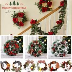 berry, Door, Christmas, christmaswreath