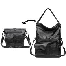 Shoulder Bags, Vintage, brown, body bag