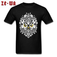 summercasualunisex, Owl, Fashion, Cotton