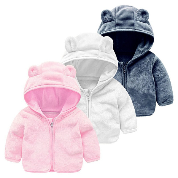kids, Baby Girl, hooded, Outerwear