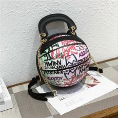 Fashion women's handbags, Basketball, graffiti bag, Sports & Outdoors