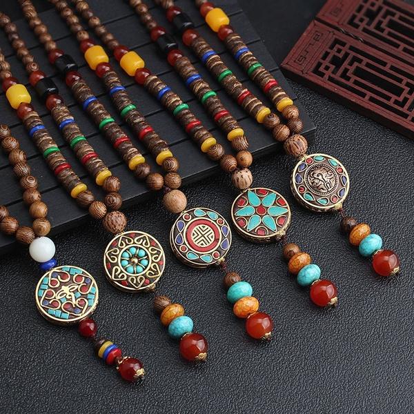 Necklace, Fashion, bohemianluckysweaterchain, Jewelry