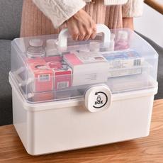 Storage Box, Box, Multifunctional, firstaidkit