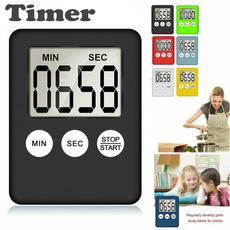 Mini, timepiece, Clock, Cooking