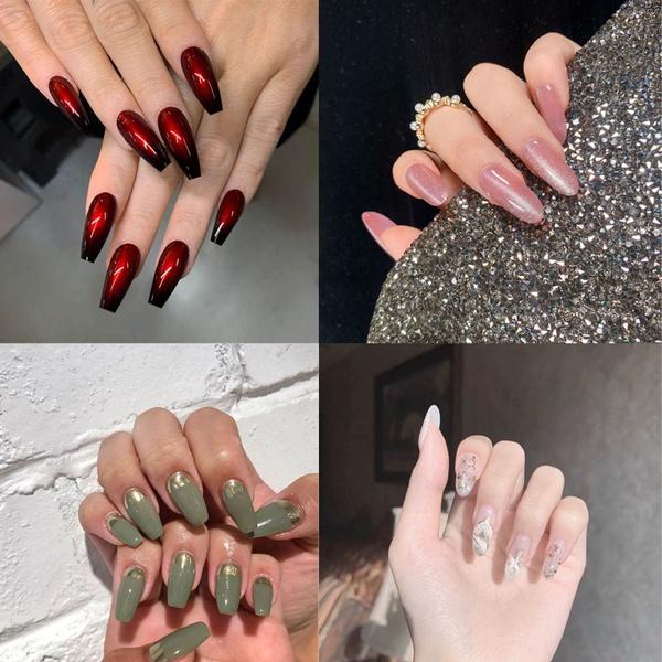 nail stickers, Fashion, nail tips, Beauty