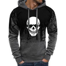 hoodiesformen, Fleece, hooded, printed