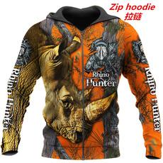 3D hoodies, Fashion, camouflage, unisex