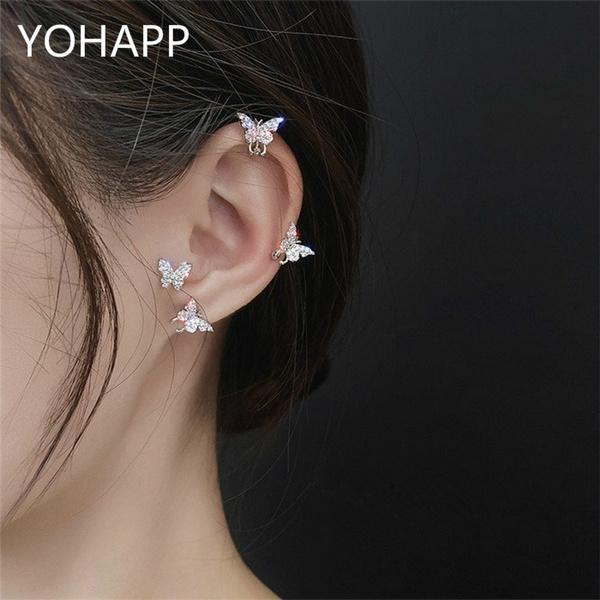 butterfly, Jewelry, Stud Earring, ear studs