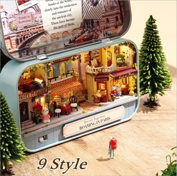 Box, theatrebox, Gifts, diydollhouse